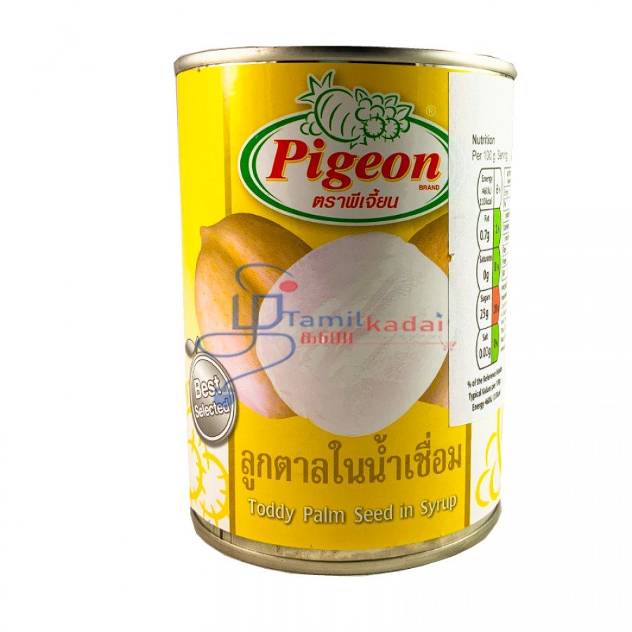 Pigeon Toddy Palm Seed in Syrup - கள் சிரப் (580ml)
