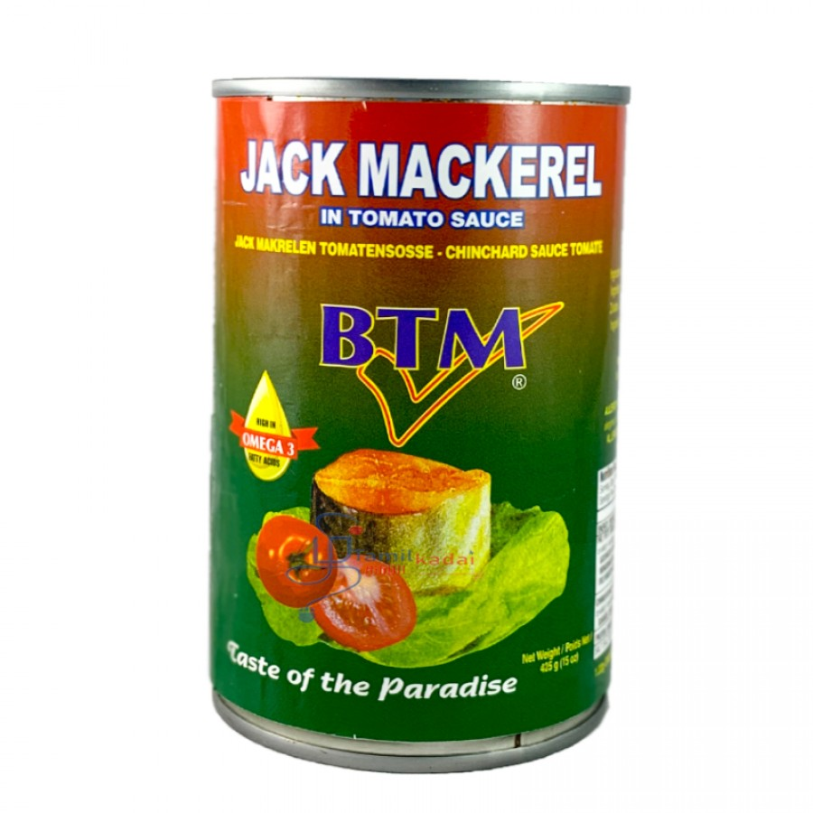 BTM Jack Mackerel in Tomato Sauce (425g)