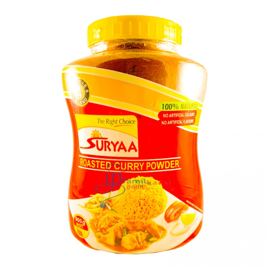 Suryaa Roasted Curry Powder HOT (900g)