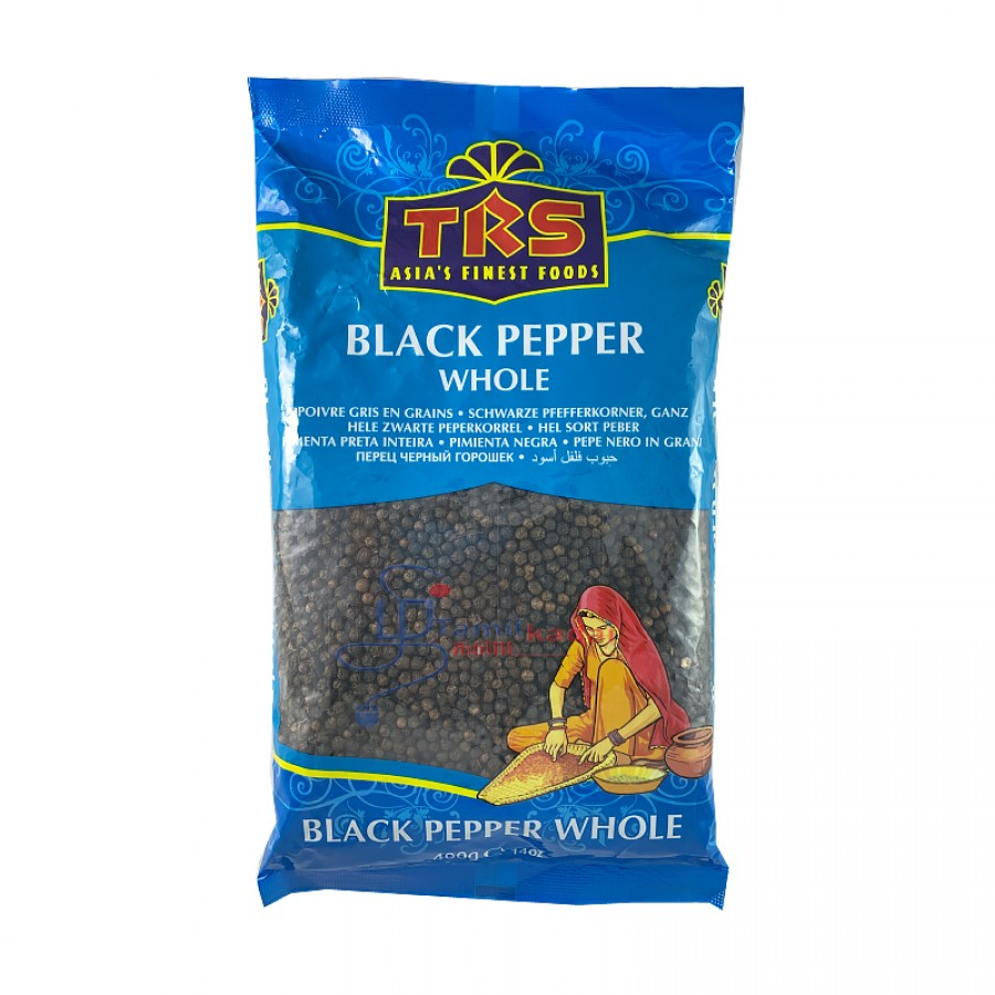TRS Black Pepper Whole - மிளகு (400g)