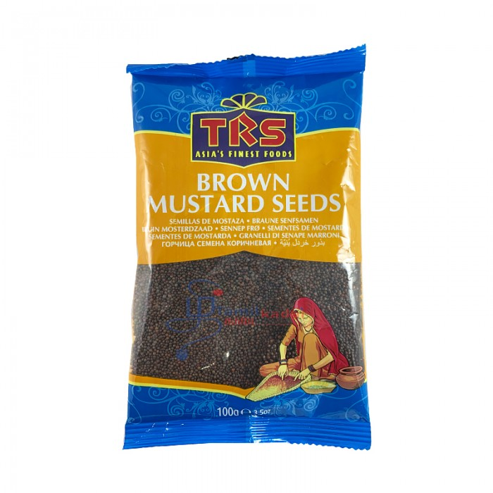 TRS Brown Mustard Seeds - கடுகு விதைகள் (100g)
